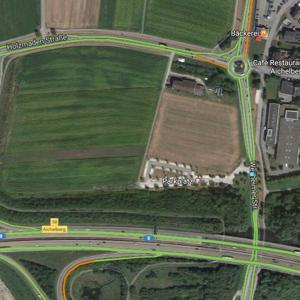 Park&Ride Aichelberg an der A8
